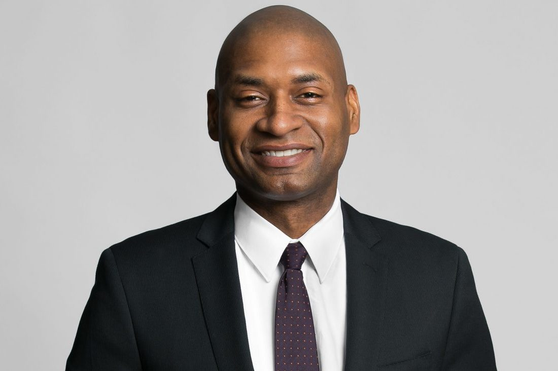 The writer Charles Blow, photogaphed November 25, 2013, New York, New York. Photograph © Beowulf Sheehan